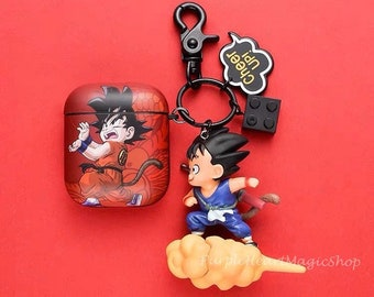 Dragon Ball Z charm inspired character keyring bag charm