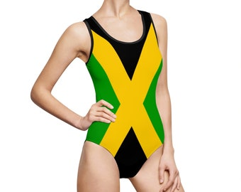 f2d410c1cf Jamaica swimsuit for woman - holiday vacation cruise Classic One-Piece  Swimsuit