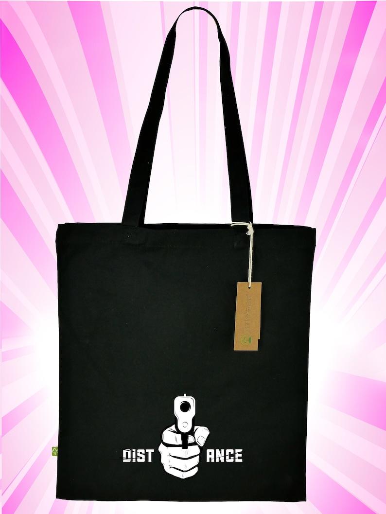 Stable shoulder bag Keep your distance made of image 0