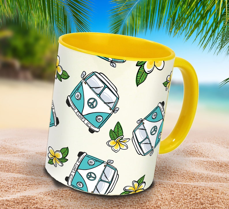 Coffeecup summer VW Bus for camping lovers with image 0