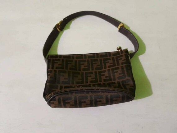 Vintage Fendi Zucca Handbag Bag monogram