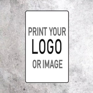 35x Add LOGO BUSINESS Details Email Here Custom Rectangle 25x15mm Label 071