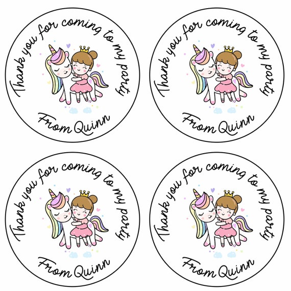 BEN /& HOLLY PERSONALISED PARTY STICKERS NAME THANK YOU LABELS SWEET CONE SEALS