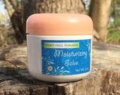 Moisturizing Salve, Melissa plus Calendula, firming cream, all natural healing, hydrating, skin softening, under makeup, face, gift for her