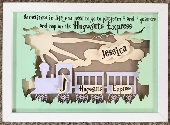 personalised harry potter hogwarts express quote inspired