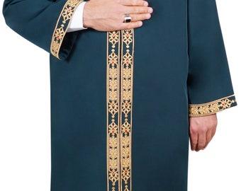 Islamic Mens Turkish Wear Thobe Galabiyya Jubbah islamic   Etsy