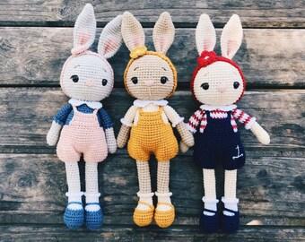 Free Crochet Bunny Pattern! - Leelee Knits | 270x340