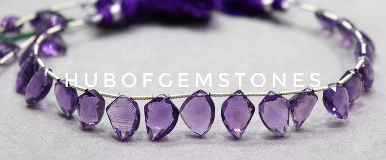 Amethyst Faceted Beads Fancy Shape Beads Side Drill Beads Amethyst Faceted Fancy Beads AAA Grade Gemstone Beads