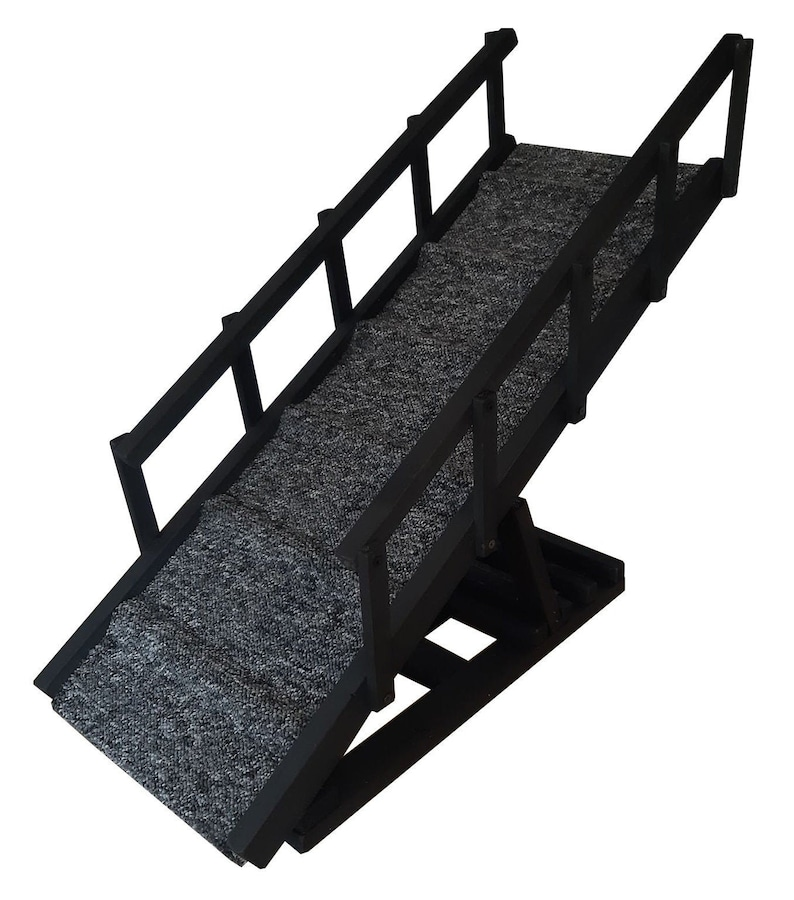 Dog Ramp with Steps and Rails / For Bed & Couch / 4 ...