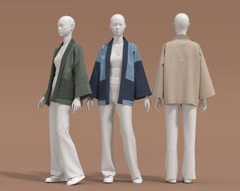 NEW Kimono Jacket | Printable Sewing Pattern | Style W11