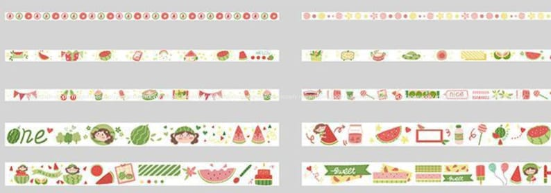 10 Rolls and Stickers set Pink  Planner washi tape Japanese Sticker masking tape wholesale Accessories Supplies Wholesale ss147-8