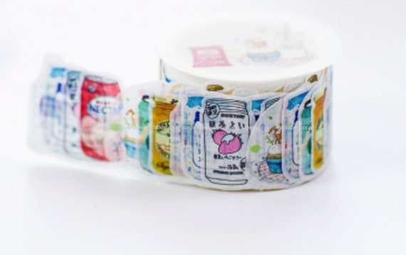 glass masking tape 25mm wide Design Japanese Washi Tape wholesale Accessories Supplies Wholesale ys216-3