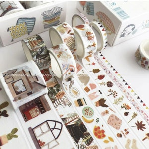 10 Rolls set animal Mixed Box Planner washi tape Japanese Sticker masking tape wholesale Accessories Supplies Wholesale ss168-5