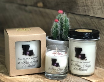 Baja Cactus Blossom Soy Candle