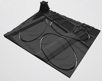 Custom Unpainted Mag-Tray -  Industrial  (Left tile)