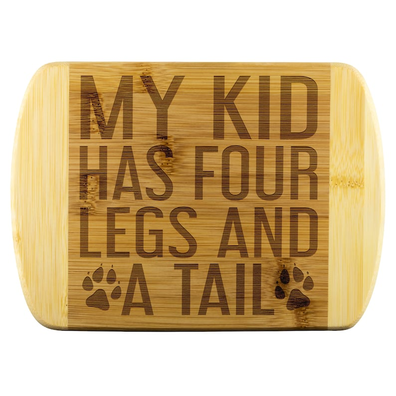 My kid has 4 legs and a Tail