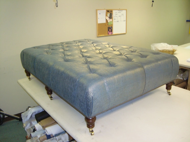 Swell Custom Square Ottoman Large Tufted Ottoman Tufted Ottoman Coffe Table Tufted Leather Ottoman Large Tufted Ottoman Custom Ottoman Squirreltailoven Fun Painted Chair Ideas Images Squirreltailovenorg