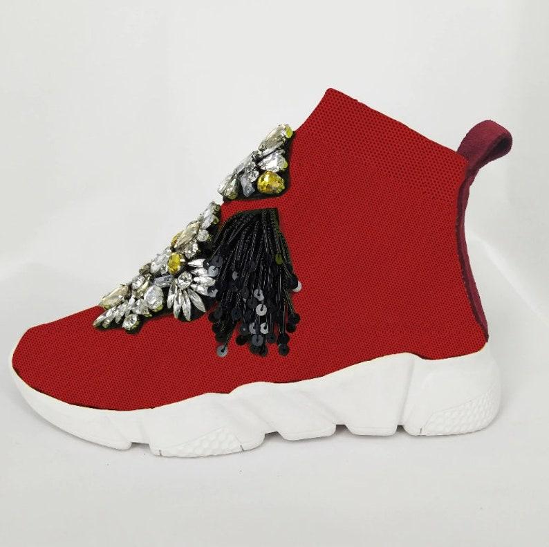 Crystal Sock donne Sneakers 73NcJEJ7