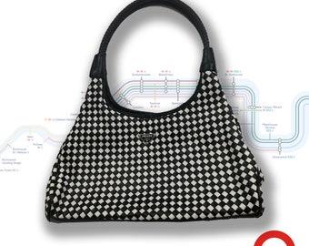 f705b25162fc9 Checker print bag   Etsy