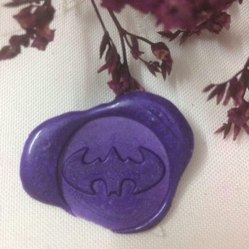 Batman Wax Seal Stamp batman hero  Wax Stampbirthday wax Stamp batman wax SealingPersonalized wax  seal stamp