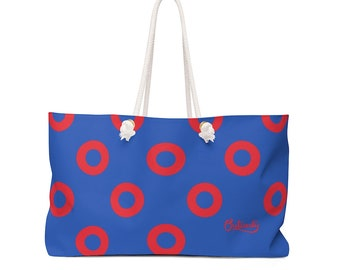 Phish large sequin donut tote bag