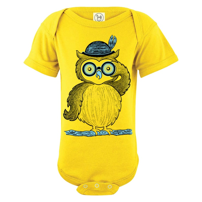 Looking for Owls Baby One Piece Owl One piece Phish One Piece