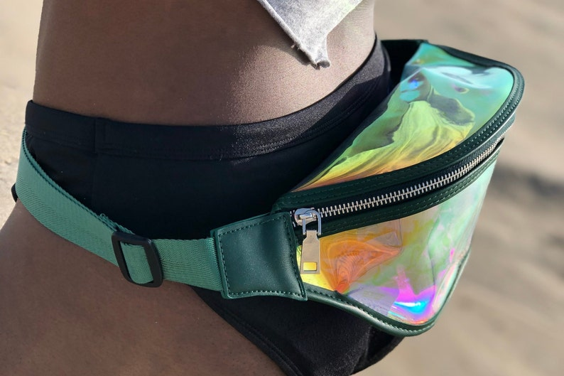 SIMPLY IRIDESCENTBLE FOREST Fanny Pack