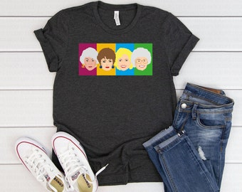 92a0d0384204 Golden Girls T shirt- Golden Girls Cast- Golden Girls TV Show- The Golden  Girls-