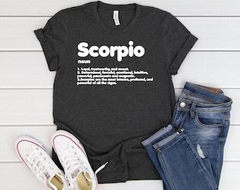 dffeaa22 Scorpios Zodiac Sign Shirt - Scorpios Gift - Birthday Gift - Birthday Shirt  - Birthday T shirt