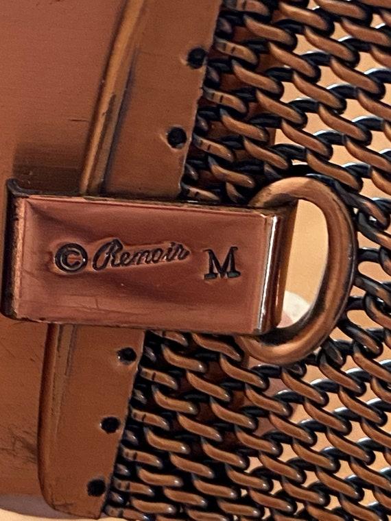 Renoir Copper Belt, Steampunk Belt, Corset Belt 19