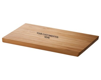Bamboo Customized Cutting Chopping Board Special Gift For Birthday Cooking Chef