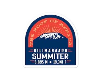 Kilimanjaro Seven Summits Decal Sticker Mt