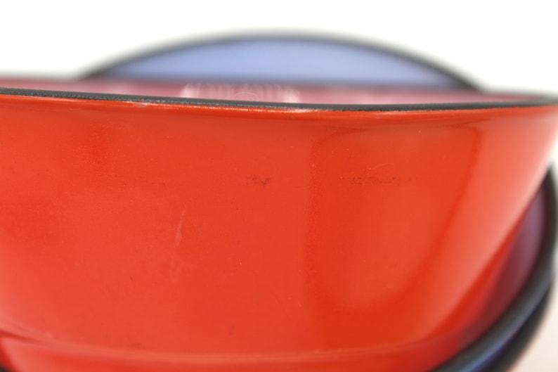 Ships Free Set of 4 Fire King Black Rim Cereal Bowls USA Vintage Anchor Hocking Milk Glass Fire Glaze Bowls at Whispering City RVA
