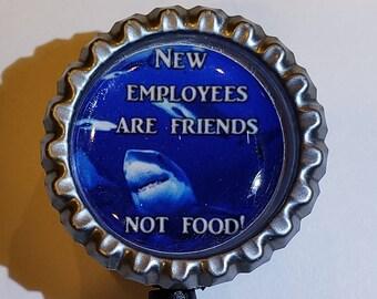 Finding Nemo work Retractable Reel ID Badge Holder nurse secretary pediatrics