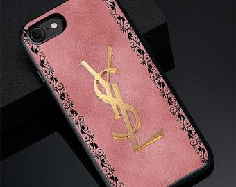 77460a544db iPhone Xs Max cases Xs Xr 7 8 Plus 6S YSL Yves Saint Laurent Case Samsung  S10 Plus case YSL S10 Case S9 S8+ Note 9 8 Plus