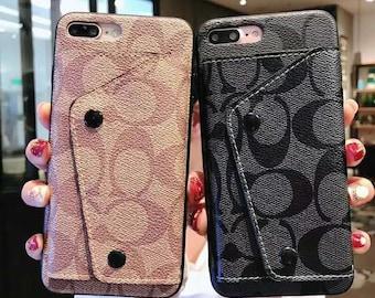 f90442b8142a Luxury wallet iPhone case for 6 6s 7 7plus 8 8plus X XS XR xsMax Custom  handmade