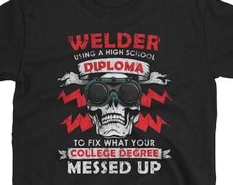 f114b89b Cool Welder Gift, Gift for Welder, Shirt for Welder, Welding Shirt, Gifts  for Welders