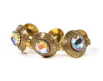 Vendome Vintage Aurora Borealis Bracelet
