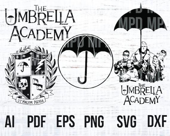 Umbrella Academy Svg Png Ai Eps Pdf Dxf Clip Art Etsy