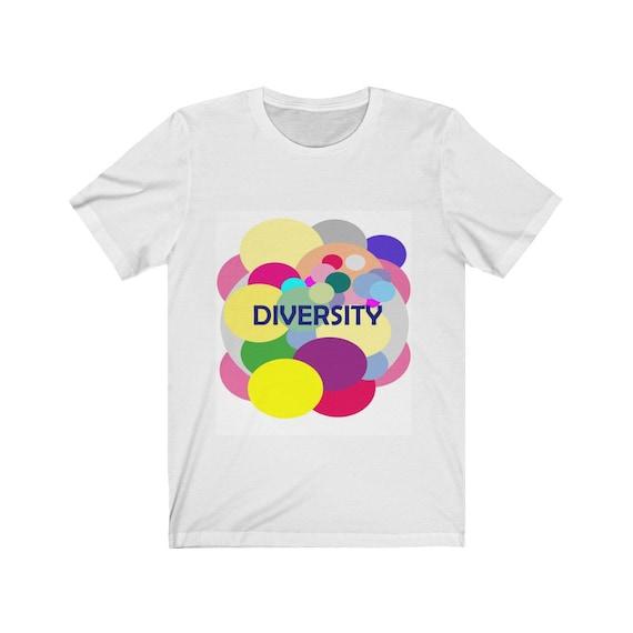 Diversity. Unisex Jersey Short Sleeve Tee