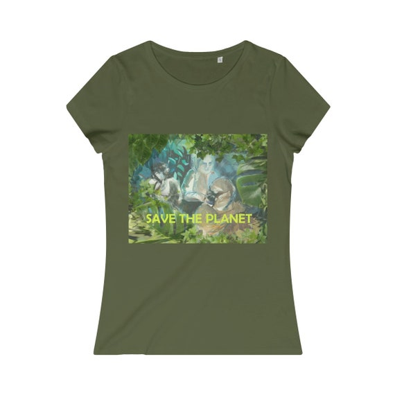 Save the planet. Organic Tee