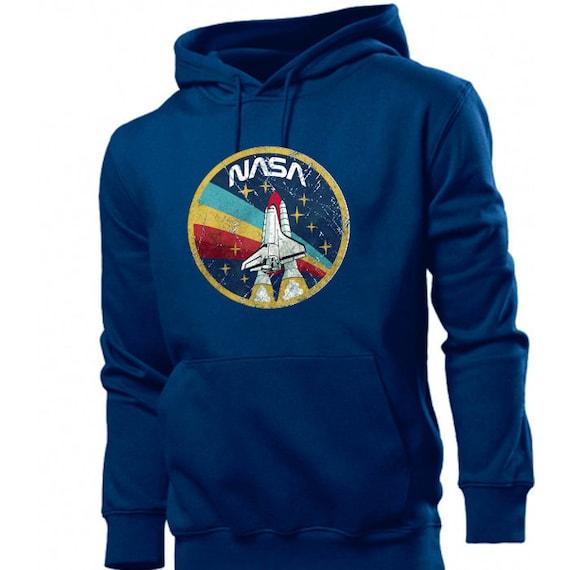 NASA Logo Hoodie S-3XL NASA Death Star Hoodie NASA Hoodie