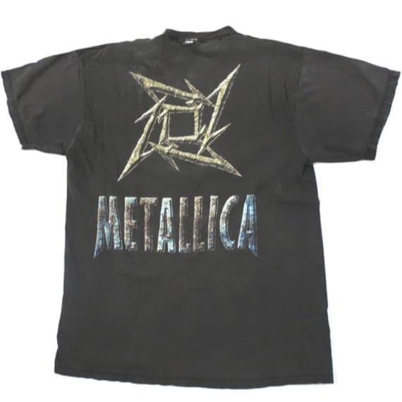 Vintage Metallica T-shirt 90s Rock