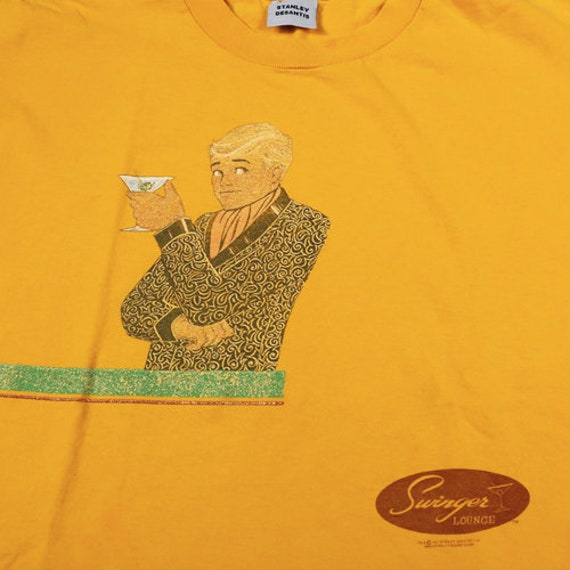 Vintage Swinger Lounge T-shirt Stanley Desantis 19