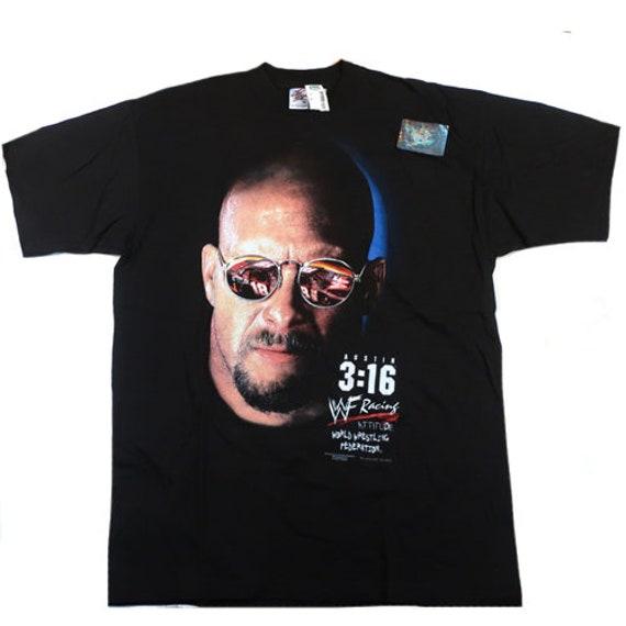 Vintage Stone Cold Racing T-Shirt Steve Austin T-… - image 1