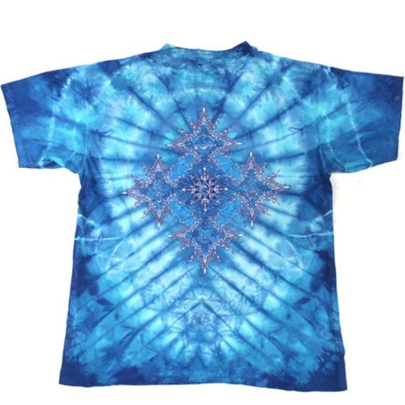 Vintage Woodstock T-shirt Tie Dye Mikio - image 2