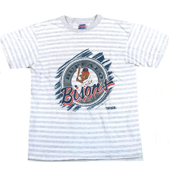Vintage Buffalo Bisons T-shirt MiLB MLB Baseball 1