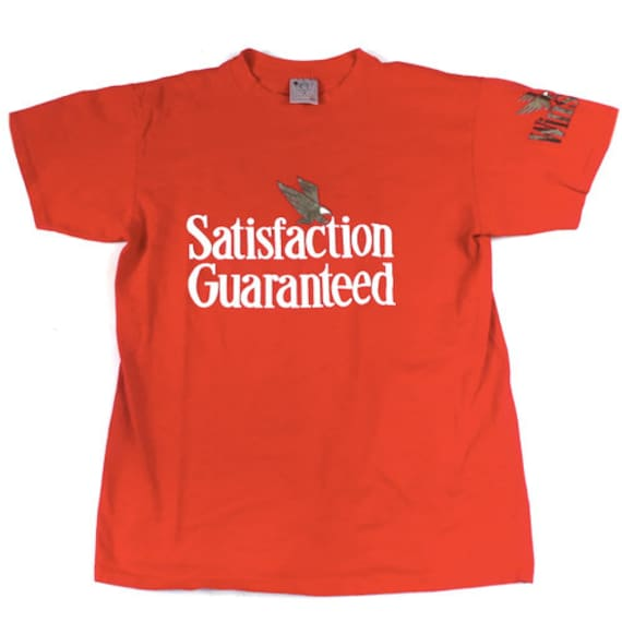 Vintage Satisfaction Guaranteed Winston T-shirt 90