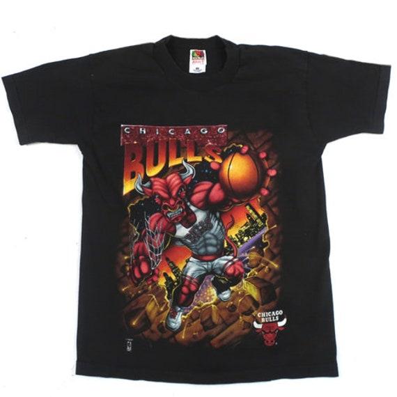 Vintage Chicago Bulls 90s T-shirt NBA Basketball J