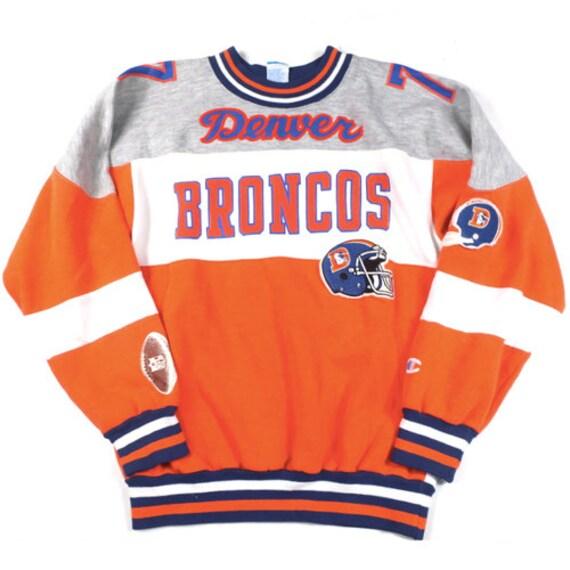 Vintage Denver Broncos Champion Sweatshirt NFL Foo